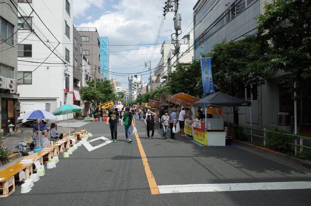 浅草の路地