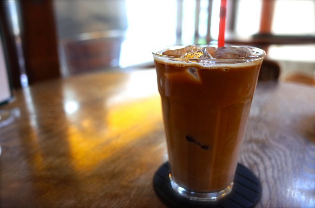 イリヤプラスカフェのコーヒー