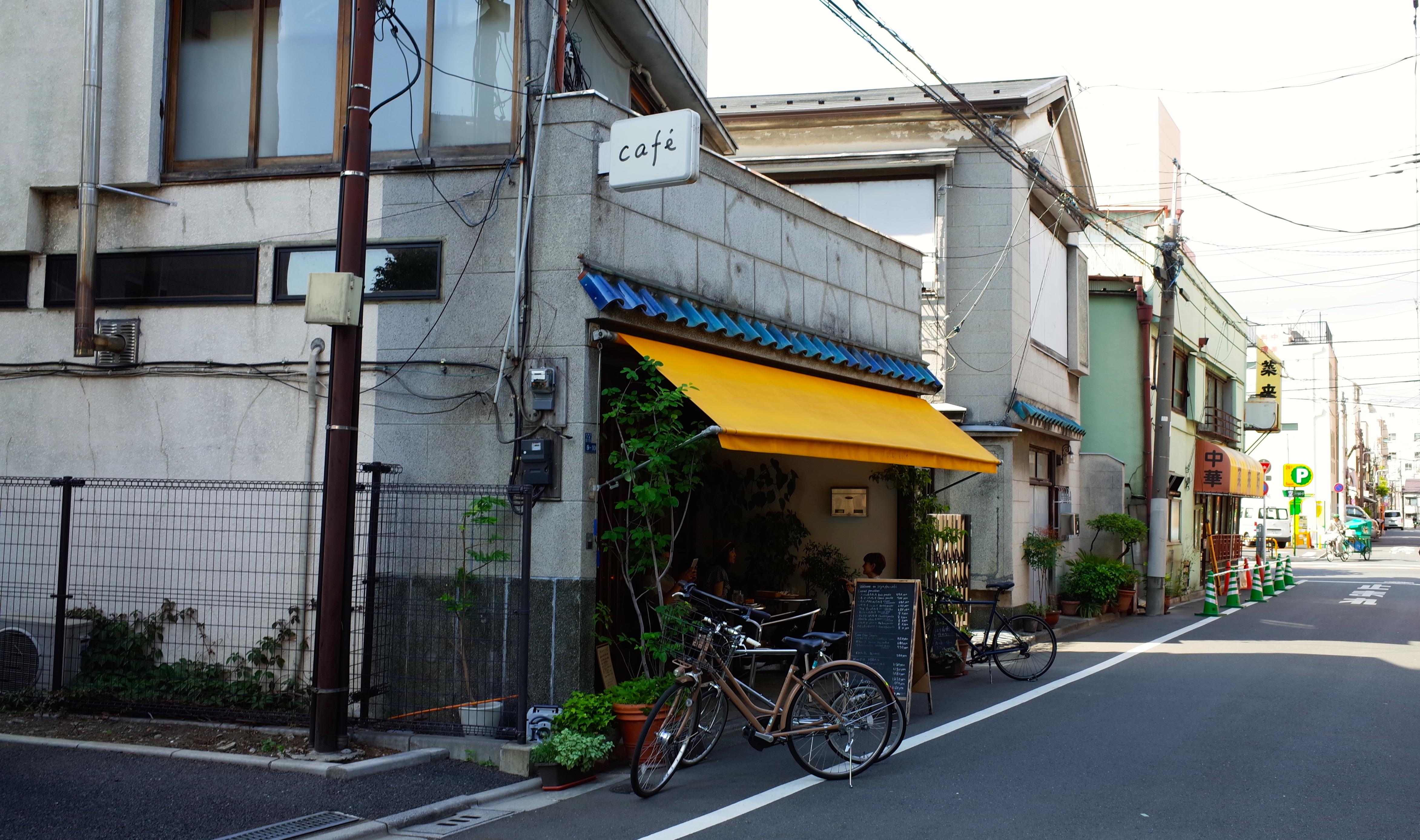入谷カフェ 外観